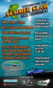 Come join the run at Summer Slam and The Boy's at Susquehanna Fishing Tackle!